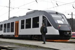 Vlak Arrivy ve Vsetíně