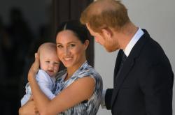 Princ Harry s manželkou Meghan a synem Archiem