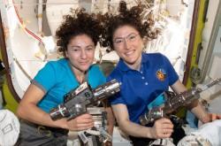 Astronautky Kochová a Meirová