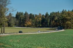 Silnice z Raspenavy do obce Krásný Les na Liberecku