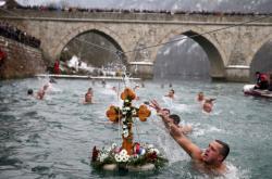 Pravoslavní křesťané oslavili příchod Tří králů