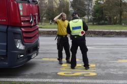 Kontrola řidiče, který porušil zákaz vjezdu do Přerova