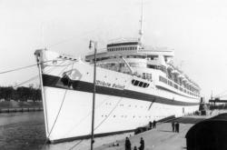 Wilhelm Gustloff v přístavu