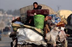 Uprchlíci ze syrské provincie Idlíb