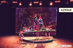 Cirkus jako naděje pro děti. Soubor v Rusku pomáhá mladistvým v nouzi