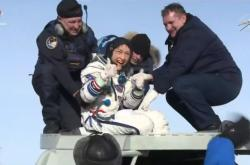 Návrat astronautky Kochové