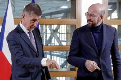 Andrej Babiš a Charles Michel