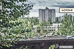 Opuštěné domy a liduprázdné ulice. Mrtvé město Pripjať chce na seznam chráněného dědictví