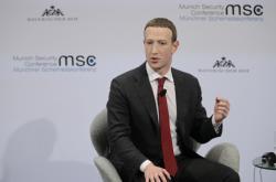 Šéf Facebooku Mark Zuckerberg na bezpečnostní konferenci v Mnichově