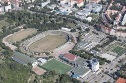 Pozemky a stadion za Lužánkami