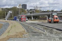 Stavba brněnského městského okruhu
