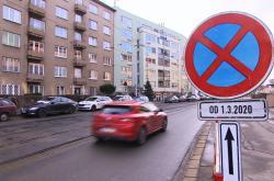 Oprava Merhautovy ulice začne v neděli