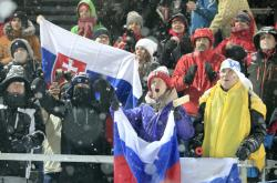 Fanoušci ve Vysočina aréně v roce 2019