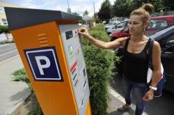 Parkovací automat - ilustrační snímek