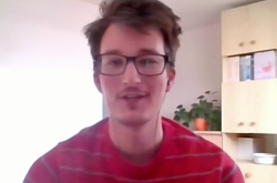 Václav Outrata z Uničova popsal prostřednictvím Skype situaci v uzavřeném městě