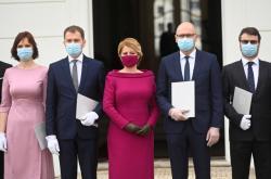 Jmenování nové slovenské vlády