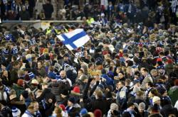 Finští fotbaloví fanoušci