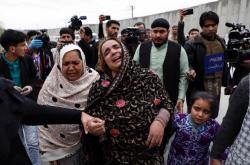 Příbuzní oběti útoku na svatyni sikhů
