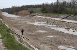 Severokrymský kanál na jaře 2014
