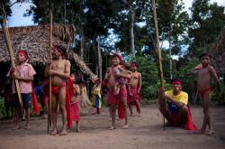 Indiáni kmene Yanomami