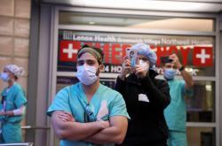Lékaři v New Yorku