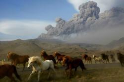 Erupce sopky Eyjafjallajökull