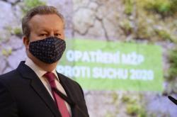 Ministra životního prostředí Richard Brabec (ANO)
