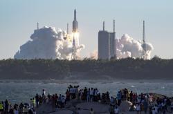 Start rakety Dlouhý pochod
