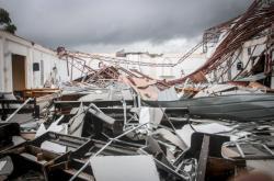 Následky tajfunu na Filipínách