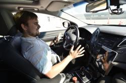 Testování robotického auta