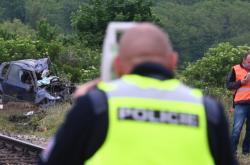 Nehoda na přejezdu mezi Moravskými Bránicemi a Silůvkami na Brněnsku