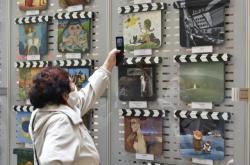 Místo Zlín Film Festivalu začala výstava filmových klapek