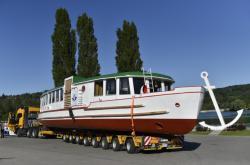 Zrekonstruovaná loď ponese jméno Morava