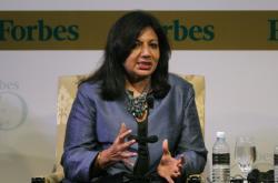 Kiran Mazumdarová-Shawová na snímku z roku 2011
