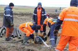 Čištění ropy po havárii v Norilsku