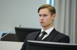 Philip Manshaus u soudu