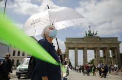 Protest v Berlíně