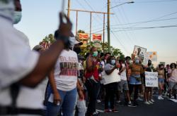 Nedělní protest v Atlantě