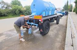 Cisterna s pitnou vodou v Šumvaldu