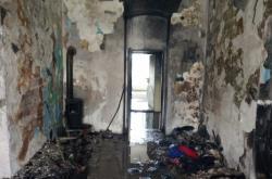 Požár bytu v Kadani na Chomutovsku