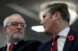 Jeremy Corbyn a Sir Keir Starmer