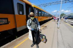 Turista po příjezdu do Chorvatska