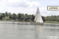 Na Jesenické přehradě se převrátila loď s turisty