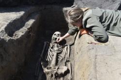 Antropologové objevili další velkomoravské hroby v Pohansku
