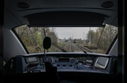 Kabina strojvedoucího