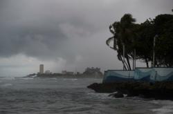 Bouře Isaias přinesla silné deště do Dominikánské republiky