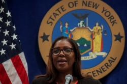 Newyorská prokurátorka Letitia Jamesová