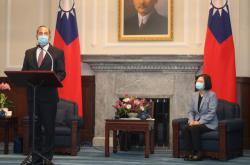 Americký ministr zdravotnictví Alex Azar navštívil Tchaj-wan