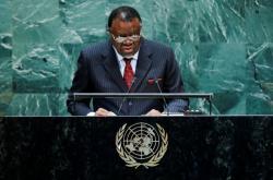 Prezident Namibie Hage Geingob