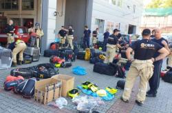 Čeští záchranáři po návratu